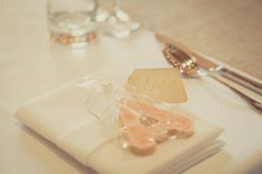 cute idea - an alphabet cookie favor using the guests first name/initial