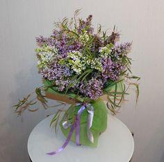 Букет цветов «Сиреневый бум»