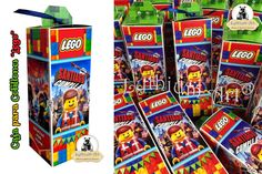 Cajas para Cotillones Infantiles Personalizados (Lego)   Lythium Art®