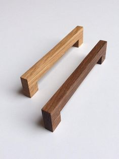 Modern kitchen Handles Contemporary Drawer Handle Rustic Cabinet Handle Wooden Handles U-0914