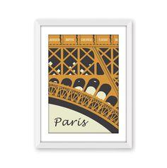 Paris Art Print in Toffee/Cream, Paris Eiffel Tower digital wall art, Eiffel Tower poster, Paris decor, Paris related gift, A4, 8x10 print by NettyandDi on Etsy https://www.etsy.com/listing/248980745/paris-art-print-in-toffeecream-paris