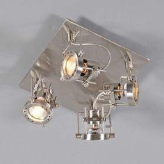 Spot Suplux 4 - Lampy sufitowe LED - Oświetlenie LED - lampyiswiatlo.pl