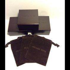 "Selling this ""MICHAEL KORS Brown Box & Dust Bag (3-pack)"" in my Poshmark closet! My username is: salesjmo. #shopmycloset #poshmark #fashion #shopping #style #forsale #Michael Kors #Jewelry"