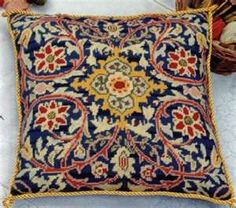 Needlepoint Kit - William Morris Cushion - Glorafilia Needlepoint ...www.atlascraft.co.uk