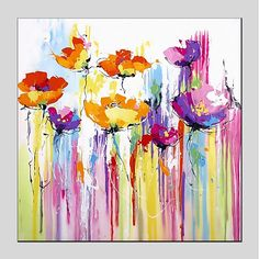 Online Shop Watercolor Abstract Flowers Painted by Skillful Painter Oil Painting Hand-painted Coloerful Beautiful Plant Canvas Oil Painting Art Painting, Modern Art Prints, Floral Art, Painting, Abstract Floral, Oil Painting Abstract, Abstract Flower Painting, Abstract, Abstract Watercolor