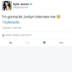 #kylieradio about to start! Link in my bio #kylie #kyliejenner
