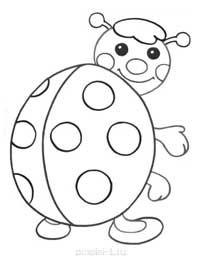 Раскраски для детей 2-4 года » Страница 6 » Раскраски для ...
