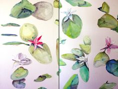 Hand Painted Wallpaper Installations | Voutsa