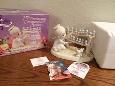 PRECIOUS MOMENTS  15TH Anniversary by KMSCollectibles on Etsy