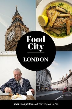 A guide for food lovers - find the hot spots to eat, drink and shop Sunday Roast, Hot Spots, London City, Street Food, Lovers, Drink, Good Things, Eat, Books