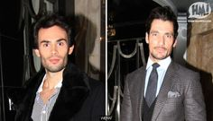 Here at Holy Moly, there's not a lot we like more than ogling famousers. Without the endless stream of pics of sexy celebs, we'd probably just die. We assume you feel the same, so here's a Friday treat: two handsome fellas out in London last night with good coats and nice faces.