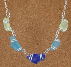 Sadie Green's Sea Glass Necklace