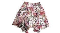 KENNETH COLE NEW York womens Light Weight 100% Silk Floral Skirt Size 8 Lined #KennethCole #FullSkirt