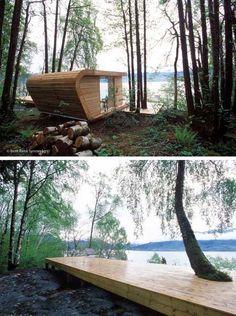 Modern Charlotte - Modern Cabin - Hardanger Retreat - Modern Fjord Cabin / The Green Life <3