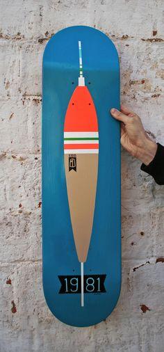 1981Handmade skateboard deck by Unknown