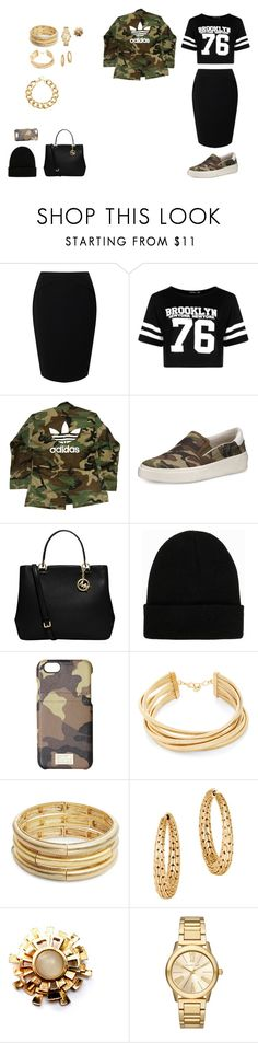 """With a touch of camouflage"" by yanimal ❤ liked on Polyvore featuring Jacques Vert, Boohoo, adidas, Ash, MICHAEL Michael Kors, NLY Accessories, HEX, BCBGMAXAZRIA, Nanette Lepore and John Hardy"