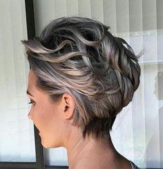 Speziell für Frauen mit welligen Haaren! 10 weibliche Kurzhaarfrisuren mit sanften Locken! - Neue Frisur