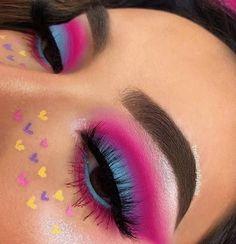 Fabulous Eye Make-up Concepts For You; Smoking Eyes Make-up; Makeup Eye Looks, Eye Makeup Art, Cute Makeup, Eyeshadow Makeup, Makeup Inspo, Makeup Inspiration, Makeup Ideas, Maybelline Eyeshadow, Colourpop Cosmetics
