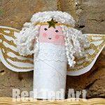 Рулон туалетной бумаги Ангелы