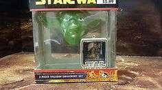 #Holiday #ornaments #keepsake star wars yoda head ,  View more on the LINK: 	http://www.zeppy.io/product/gb/2/141673087986/