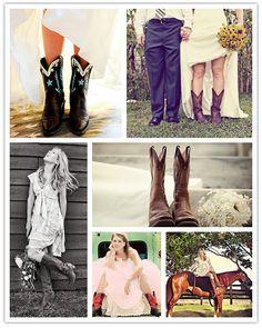 Novias con botas