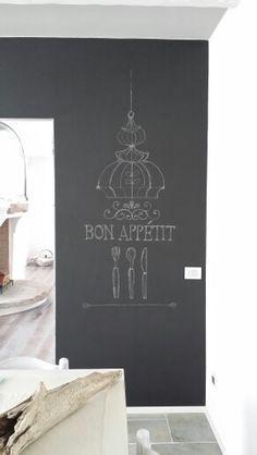 Lavagna adesiva da cucina lavagnetta wall stickers Premium Bakery ...