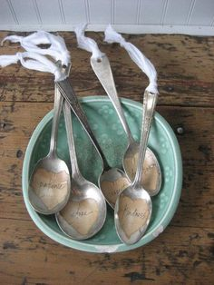 Creative silver spoon idea