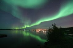 The Northern Lights!  I dream of visiting the 7 natural wonders of the world.