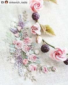 @sinkevich_nadia #ricamo #bordado #embroidery #broderie #handembroidery #needlework
