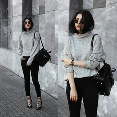 Get this look: http://lb.nu/look/8424579  More looks by Holynights Claudia: http://lb.nu/holynights  Items in this look:  Na Kd Turtle Neck Sweater, Vipme Leather Backpack, Na Kd Lace Up Shoes, Locman Watch, Vipme Backpack   #casual #chic #street #vipme #uniquelyme #vipmestars #vipmereview #review #fashion
