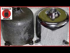 How To Clean and Polish Aluminum and Alloy Metal Engine Polishing on Café Racers or hot rods - YouTube