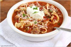 Instant Pot Lasagna Soup–All the delicious flavors of lasagna in soup form! Plus, it's made in the Instant Pot so it's a meal that comes together quickly. Kids and adults alike will love this soup! Pin this recipe for later! Get the SLOW COOKER version of the recipe here Jump to the recipe Instant Pot …