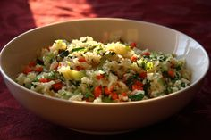 Vegetable Fried Rice (with Bok Choy),  by Chinese Healthy Cooking.com