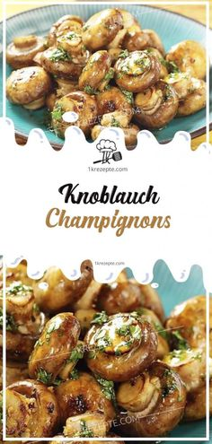 Knoblauch-Champignons fingerfood, erika S., fingerfood Knoblauch-Champignons - Rezepte Source by . Healthy Eating Tips, Healthy Nutrition, Clean Eating, Garlic Mushrooms, Stuffed Mushrooms, Stuffed Peppers, Salad Recipes, Diet Recipes, Healthy Recipes