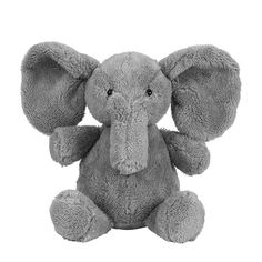 Baby Christmas Gift Plush Stuffed Animal Toy Super Soft Elephant Baby Comfort Toy Doll – QCLOUTH