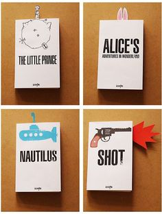 simple book covers