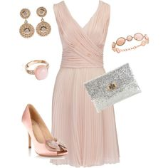 Rose and Gold...perfect for formal engagement party
