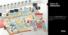 MAPA DE UBICACIÓN//Banner Food Court// CC. Multiplaza