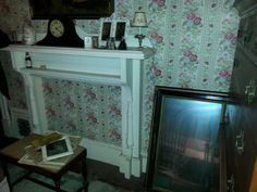 More clocks mantels benches dressers mirrors.