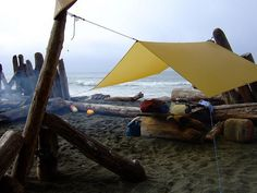 Many of California's state beaches supply camping facilities and they all offer stunning seaside views and a large variety of activities that make sure to please everybody in your family. Auto Camping, Camping Glamping, Camping And Hiking, Camping Life, Camping Ideas, Camping Cabins, Camping Signs, Camping Games, Camping Supplies