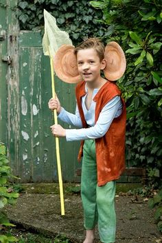 BFG dress up outfit for World Book Day. Top ideas from #TheGuardian on what the children should wear for World Book Day.