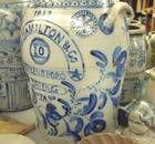 Early Americana Greensboro Salt Glaze Pottery Credit: @Rhjiv #pottery