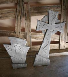 tombstones - very Tim Burton like
