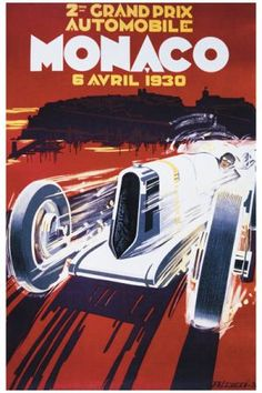 Bought this poster to frame and put in Luke's new room. Vintage racing theme