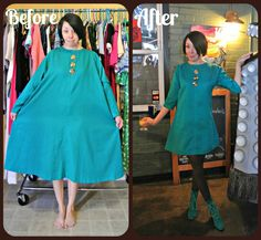 A Teal Brunch Dress!