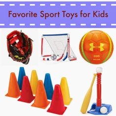Toys for Sport Loving Toddlers & Preschoolers!