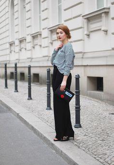 Chic und trotzdem lässig trägt Marie von @glitter_everywhere unsere Sandalette Giorgia! #outfit #fashion #bloggerstyle #poilei