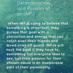 INFJs, is this true for you?