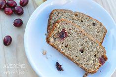 Cranberry Apple Butter Bread FoodBlogs.com