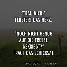 Die 17 besten Bilder von Schicksal sprüche | German quotes